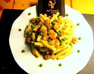 Les macaronis gourmands aux p�toncles