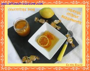 Ma confiture d'or aux agrumes