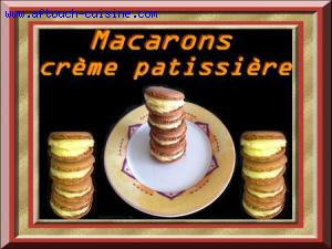 Macarons � la cr�me patissi�re