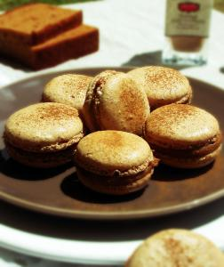 Macarons saveur pain d'épice