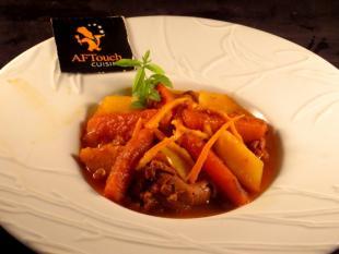 Mijotée de panse de veau à l'orange