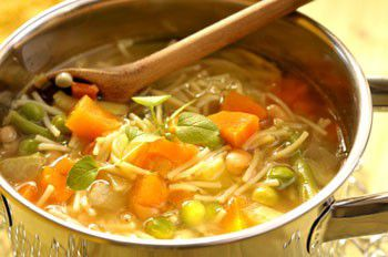 Minestrone recette minestrone aftouch cuisine for Aftouch cuisine com