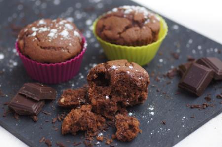 Mini cakes chocolat