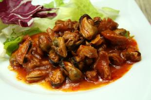 Basquaise Mussels