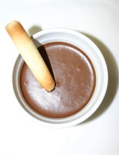 Mousse au chocolat comme l'aime Justine