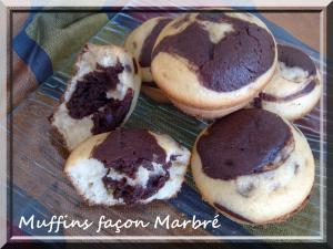 Muffins fa�on Marbr�