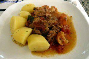 Navarin d'agneau (Lamb stew)