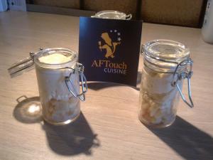 Nuage de vanille sur fraicheur d'été