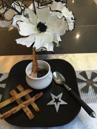 Oeuf cocotte Faugeron purée de truffes fraîches