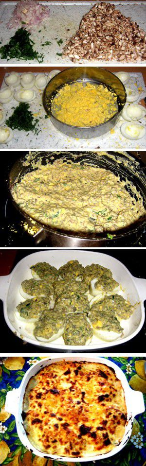 Stuffed Eggs Chimay