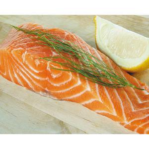 poids pavé de saumon
