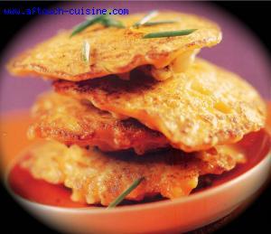Palets de chou-fleur au curry