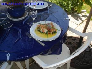 Panini de homard et filet de sole