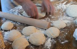 Pâte à pizza pour machine à pain