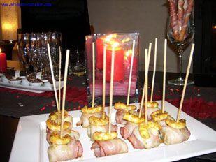 Petits bouchons de banane au bacon