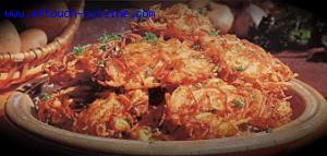 Pommes de terre vermicelles aux �chalotes