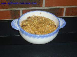 Porridge amandes