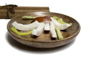 Potage de noix de coco