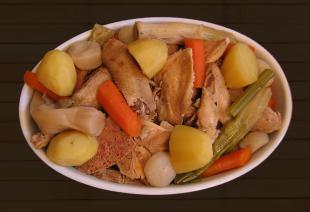 cuisson poule de cornouaille