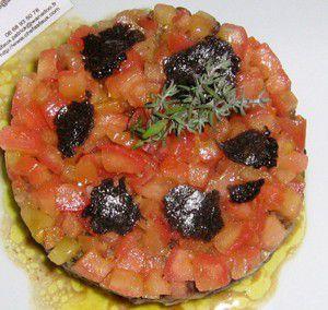 Tian of Puy lentils and Foie Gras