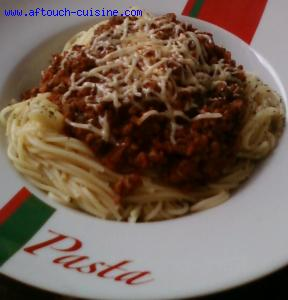 spaghetti marron