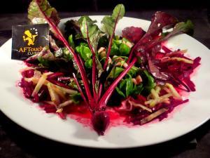 Salade mache céleri betterave