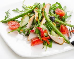 French bean salad