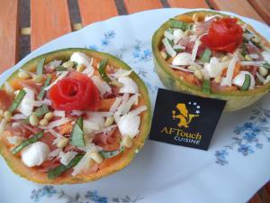 Salade De Melon A L Italienne Recette Aftouch Cuisine