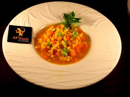 Soupe de plombs,carottes et fèvettes