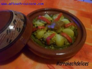 Tagine de colin en boulettes