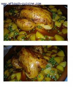 Tajine de poulet épicé