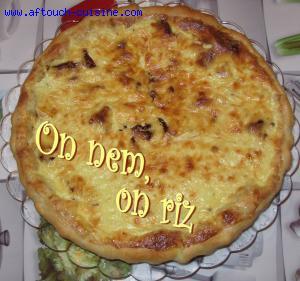 Tarte au mascarpone et aux tomates s�ch�es