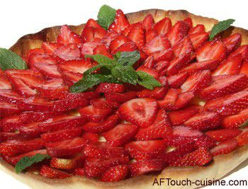 pin tarte aux fraises dukan recette sur gateau on pinterest. Black Bedroom Furniture Sets. Home Design Ideas