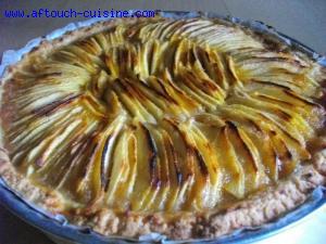 Tarte aux pommes  de zaza
