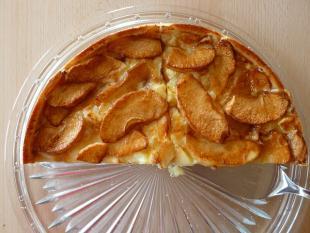 tarte sabl�e aux pommes