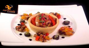 Tartelette de foie gras poêlé
