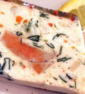 terrine poisson et st jacques