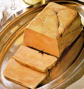 Terrine de foie gras d'oie