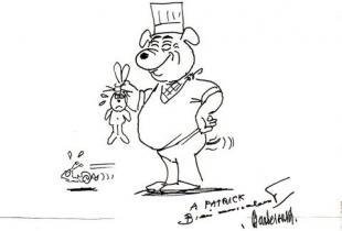 Terrine de foies de lapin et foie gras