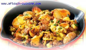 Viande hachée et pommes de terre