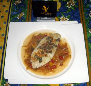 Le filet de Turbot cuit Meuni�re