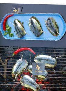 Sardines comme à juan-les-pins