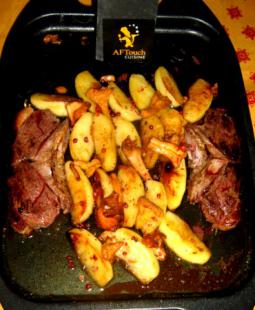 Steaks de Canard  a l'os poêlés ou grillés