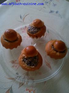 Briochettes aux champignons