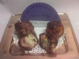 Briochettes aux pépites de chocolat.