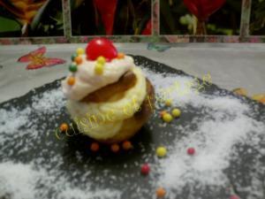 Cupcakes exotique ananas et coco