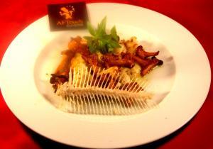 Filets de limande sole et girolles lotoises