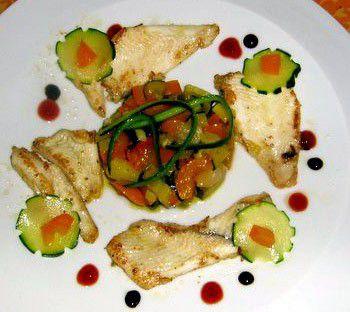 Filets de limande sole meunière