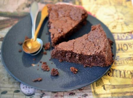 gateau fondu au chocolat