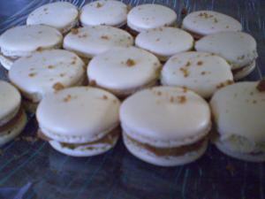 Macarons aux sp�culoos